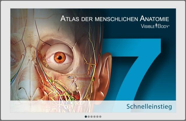 Atlas der menschlichen Anatomie für Android Tablet