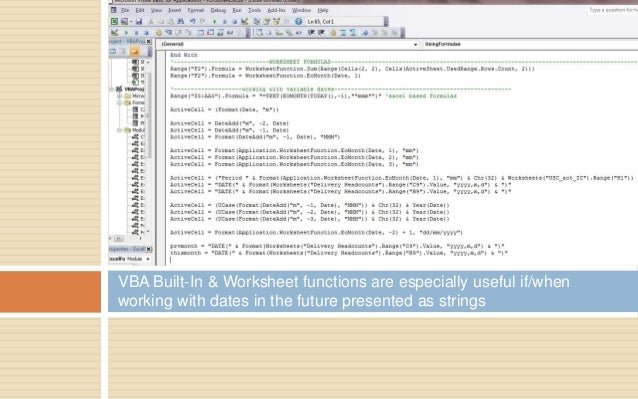 Vba builtin worksheet functions – Vba Worksheet Function