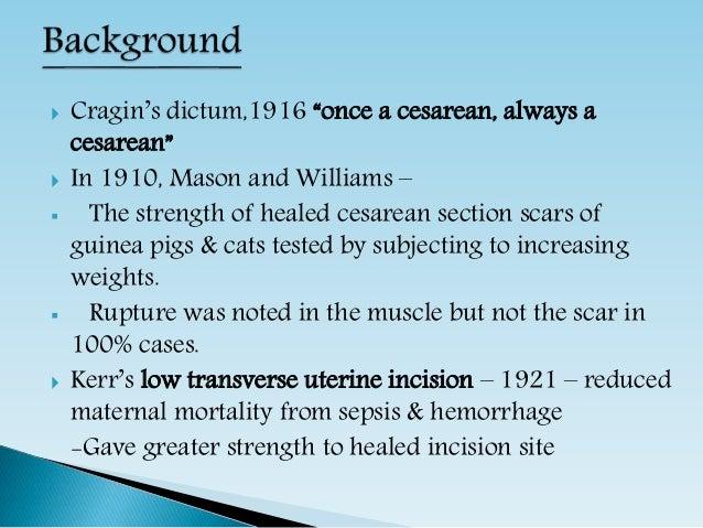 Vaginal Birth After Cesarean Delivery Slide 2