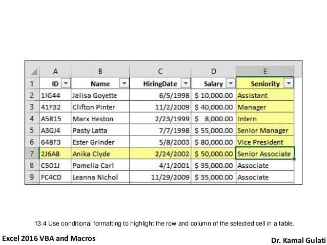 Learn Excel 2016 VBA and Macros in 24 Hours (Part 2 of 2) On Practic…