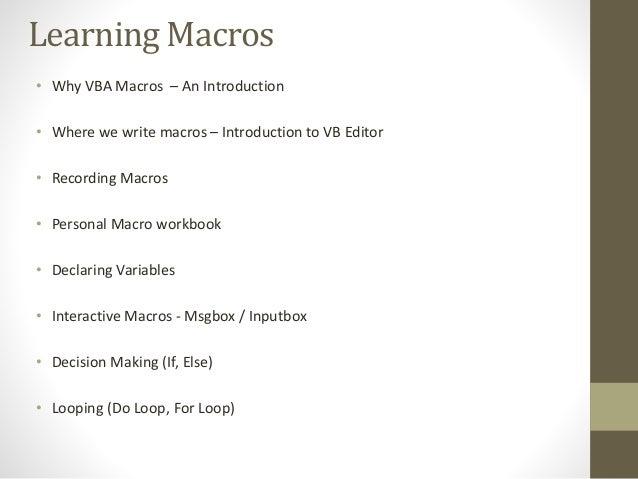 Learn vba training advance excel courses in delhi ibookread Read Online