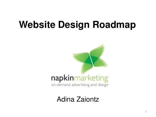 Website Design Roadmap 1 Adina Zaiontz