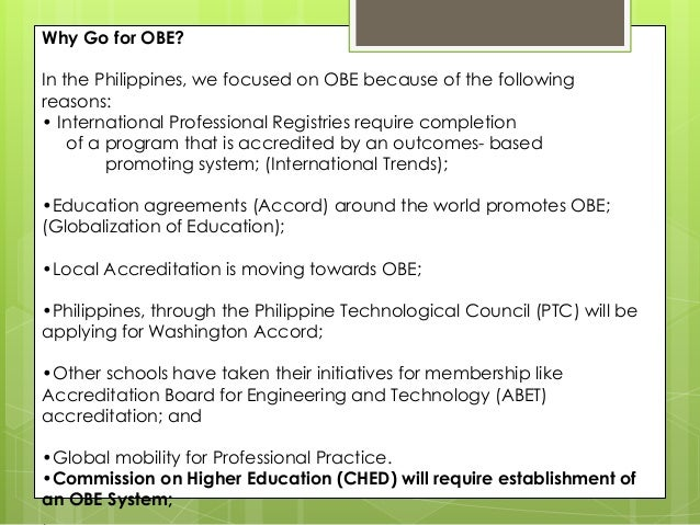 obe ched Xavier university is a filipino (ched) memorandum order no figure 1 college of engineering obe implementation framework.