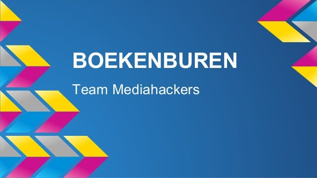 BOEKENBUREN Team Mediahackers