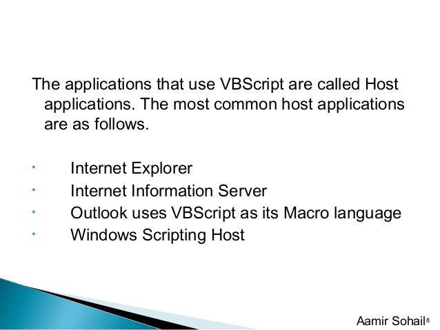 Vb script