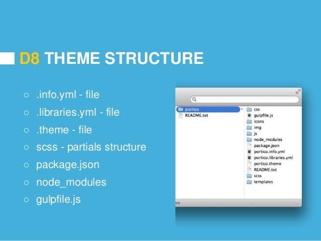 Creating a drupal 8 theme with node.js, libsass, gulp & browsersync