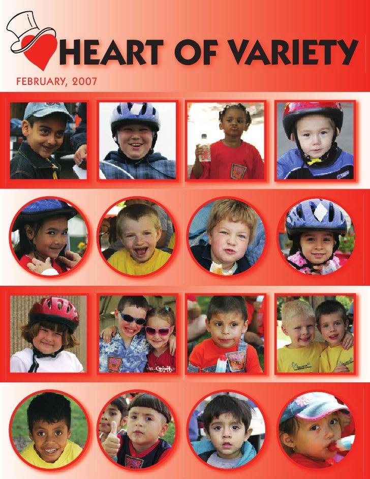 HEART OF VARIETY FEBRUARY, 2007