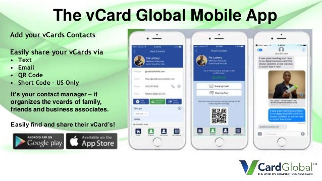 vCard Global Sales Presentation