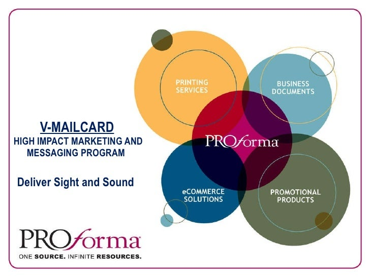 V-MAILCARD  HIGH IMPACT MARKETING AND MESSAGING PROGRAM    Deliver Sight and Sound