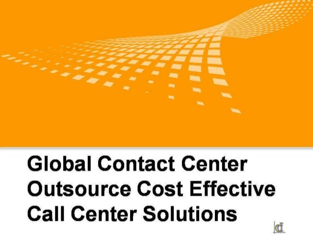 Technology Management Image: Outsource Cost Effective Call