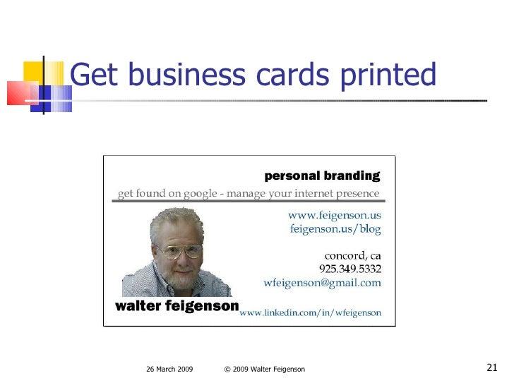 personal branding for job seekers
