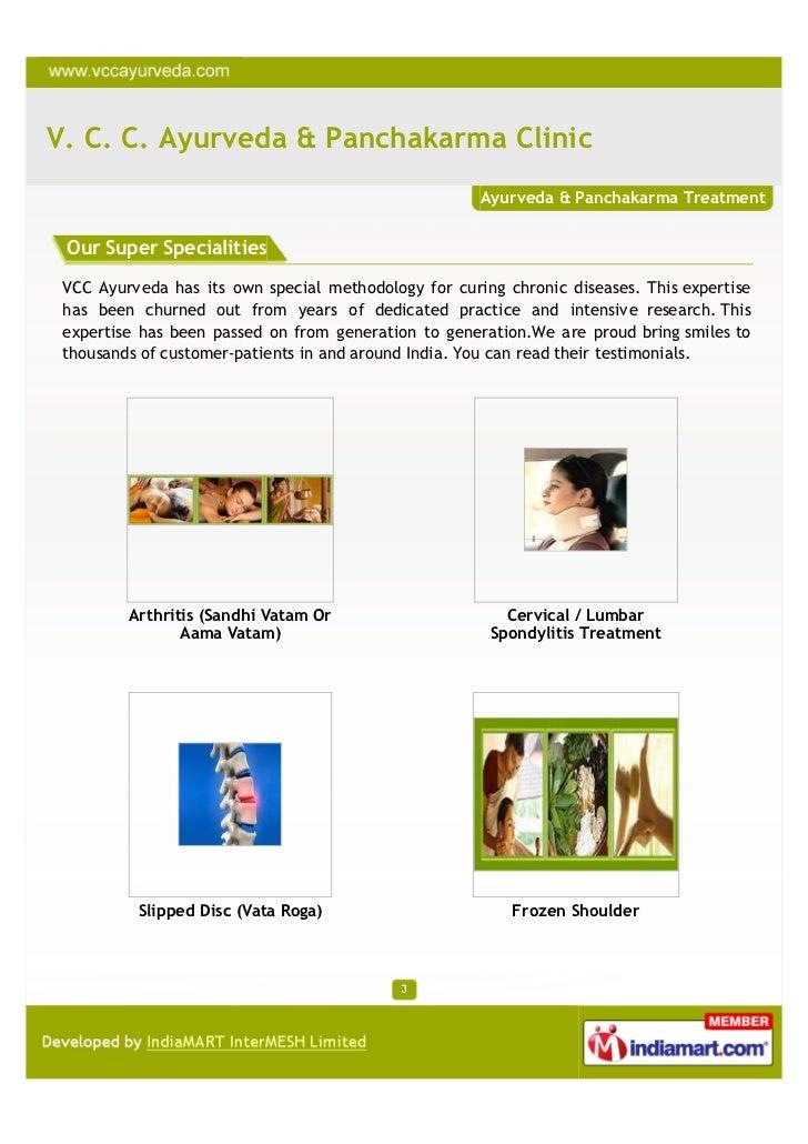 V. C. C. Ayurveda & Panchakarma Clinic, Noida, Frozen Shoulder Slide 3
