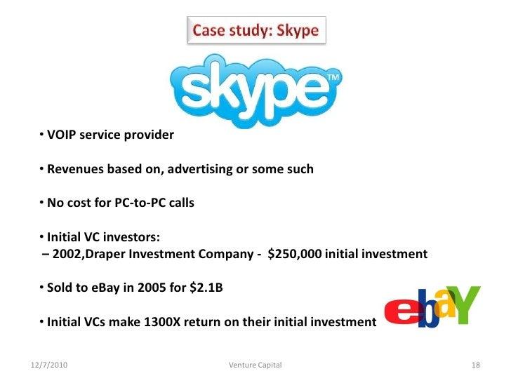 venture capital case studies