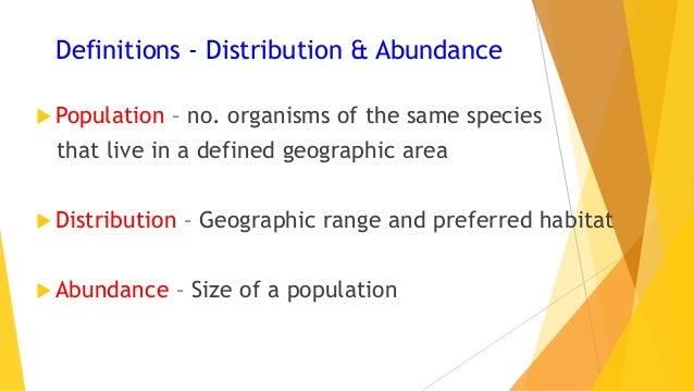 VCE Biology Population Dynamics