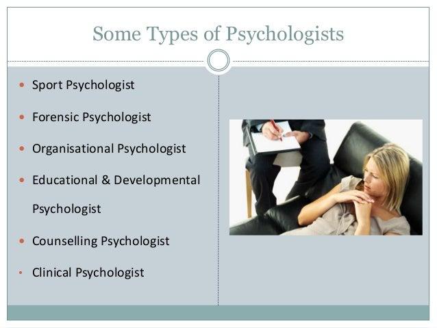 types of sychology