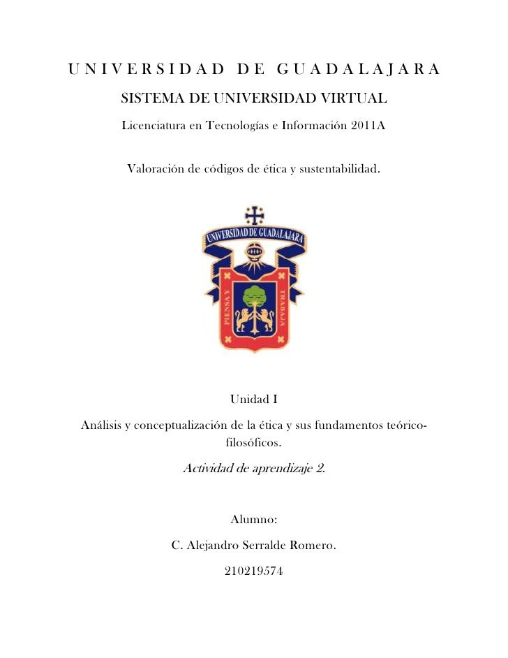 UNIVERSIDAD DE GUADALAJARA       SISTEMA DE UNIVERSIDAD VIRTUAL       Licenciatura en Tecnologías e Información 2011A     ...