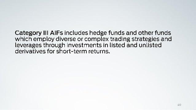 Vcf and aif regulations