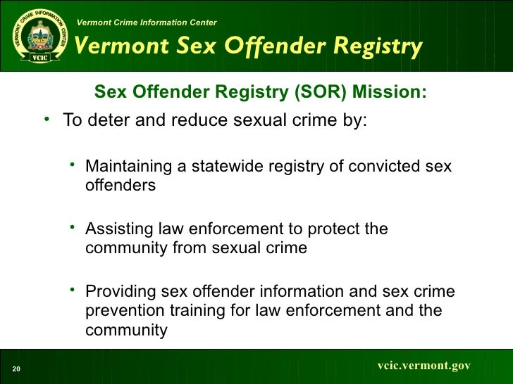 sex offender registry laws