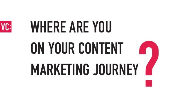 Map of the content marketing journey Slide 2