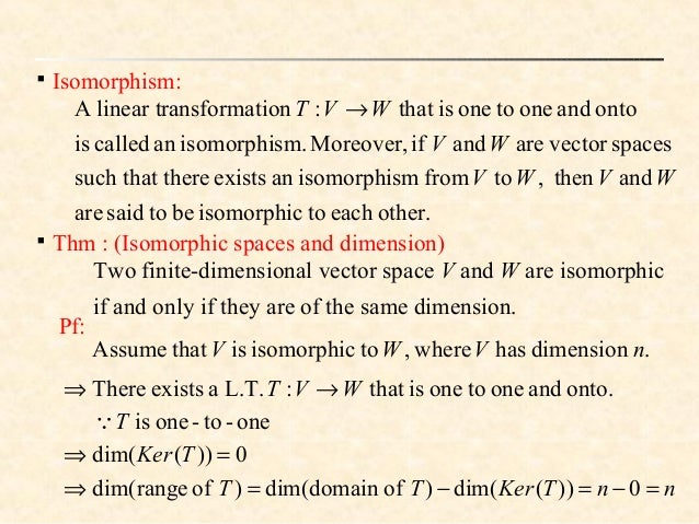 The Isomorphism Theorems  Oklahoma State University