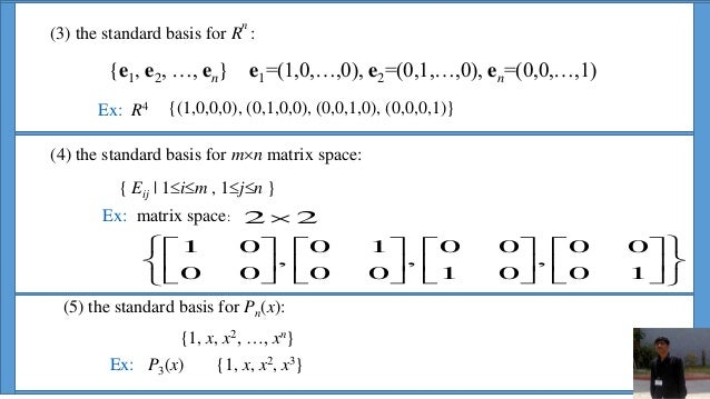 ppt on vector spaces  vcla  by dhrumil patel and harshid panchal
