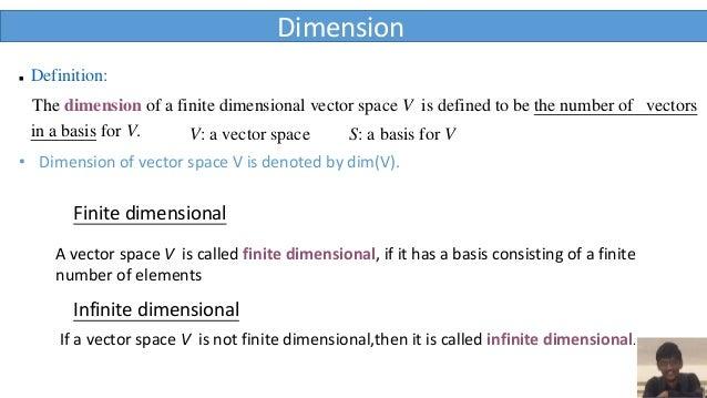 FINITE DIMENSIONAL VECTOR SPACES DOWNLOAD
