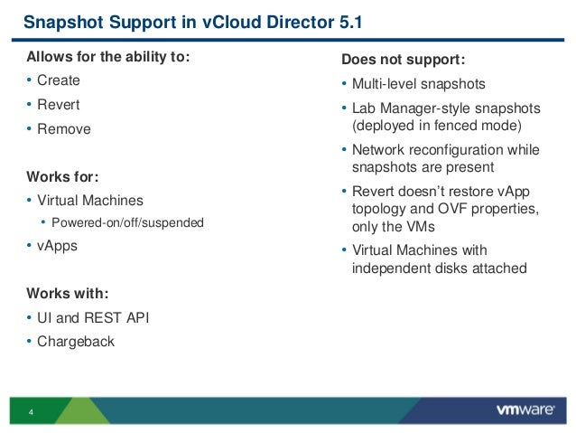 V cloud director 5 1 what's new overview technical presentation