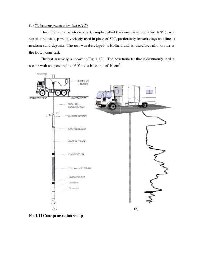 cone penetration test results interpretation