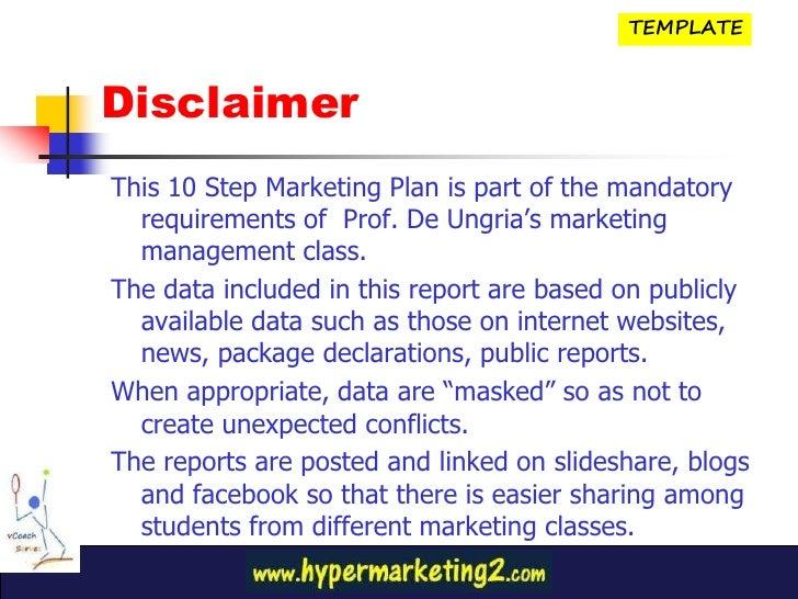 10 step business plan template
