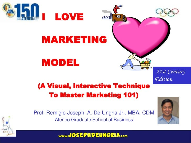 I LOVE   MARKETING   MODEL                                                  21st Century                                  ...