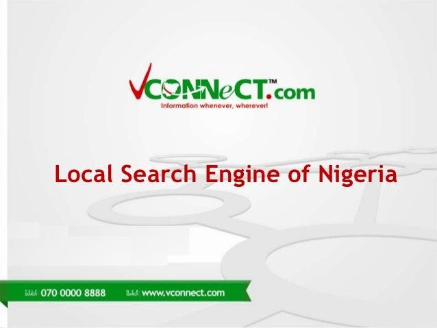 Local Search Engine of Nigeria