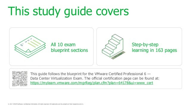 The unofficial official vcp6 dcv study guide 2 this study guide covers all 10 exam blueprint malvernweather Choice Image