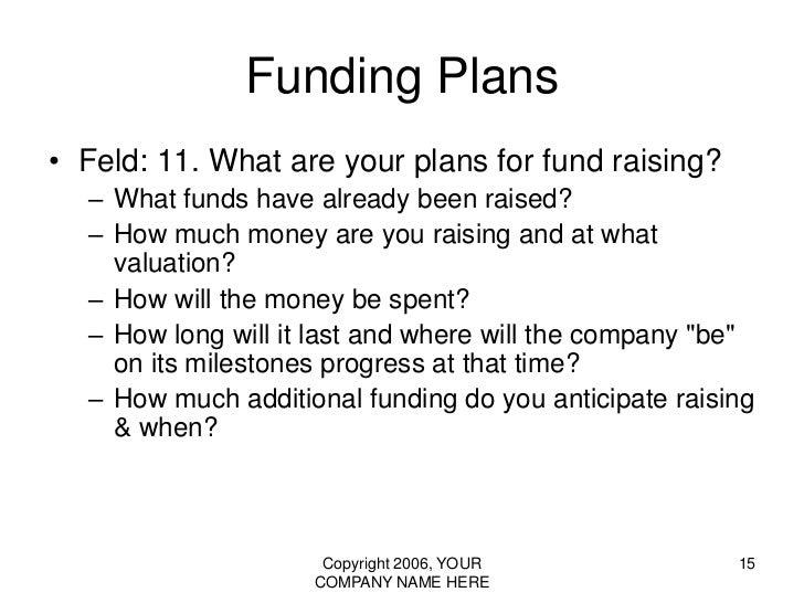 Fundraising Presentation Template Brettfranklinco - Vc pitch template