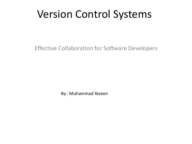 version control system software