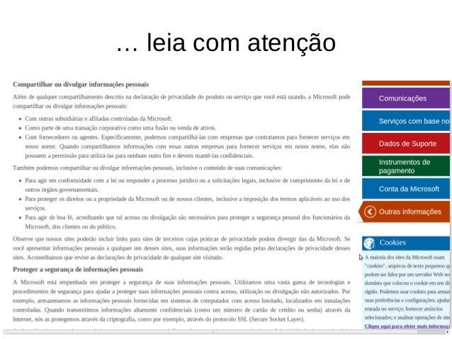 @samadeu INFELIZMENTE, O GOVERNO BRASILEIRO CONTINUA UTILIZANDO WINDOWS NA MÁQUINA DE TODOS OS SEUS MINISTROS...