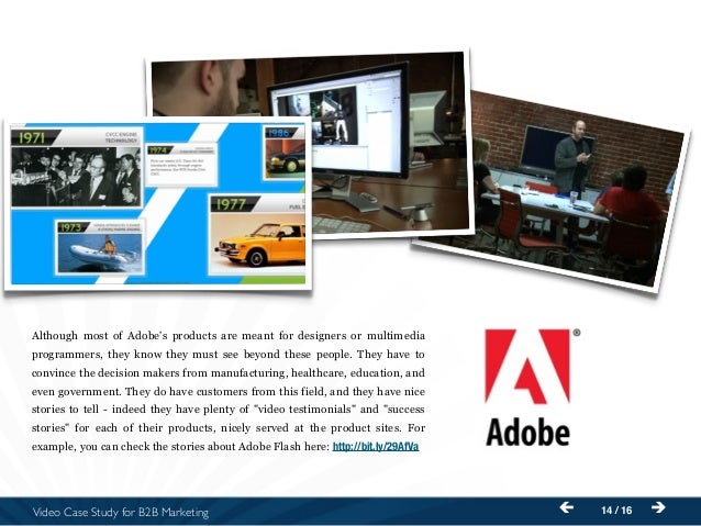 adobe case study Case study: aravo third party management solution delivers adobe measurable value, delivering better grc efficiency, effectiveness and agility.