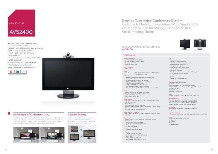 Desktop Type Video Conference System:      Desktop Type                                                                   ...