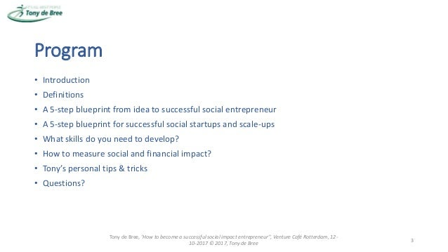 How to become a successful social impact entrepreneur?