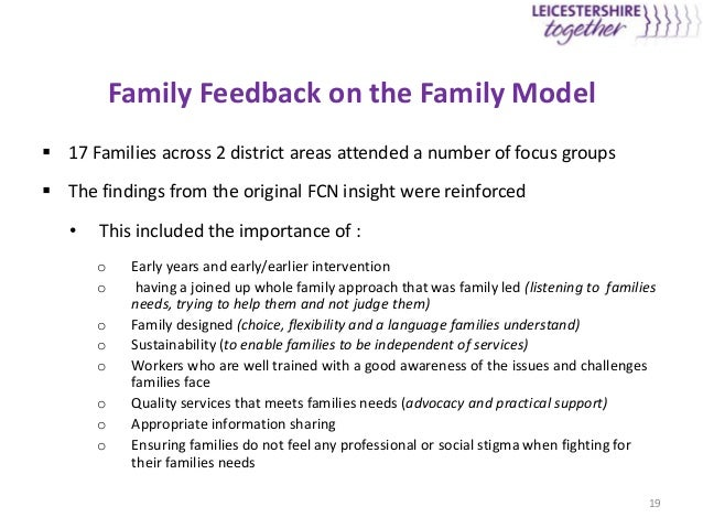 listening to troubled families The best public policy is made when you are listening to people who are going to be impacted then, once a policy is determined,  the future of troubled families.