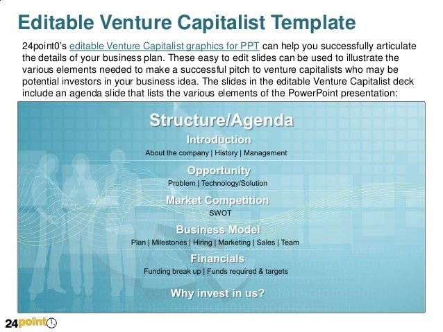 venture capitalist ppt template, Presentation templates