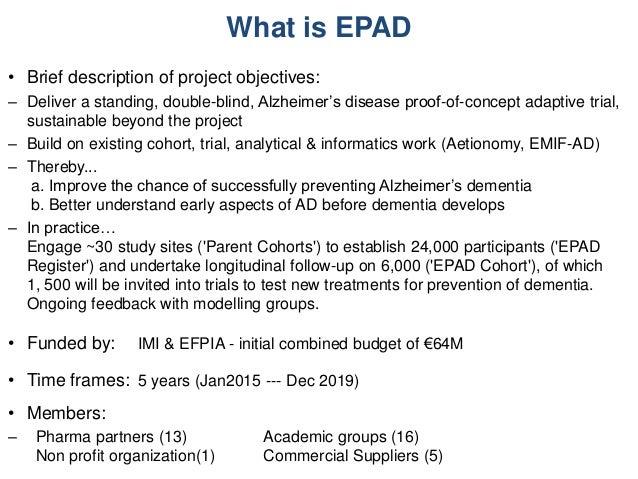 ePAD project Slide 2