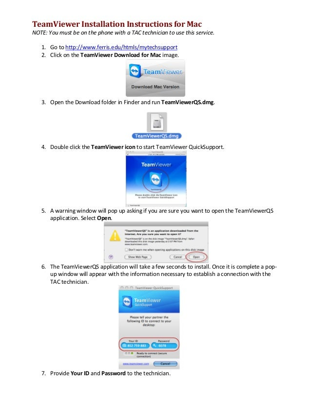 teamviewer 6 for mac download