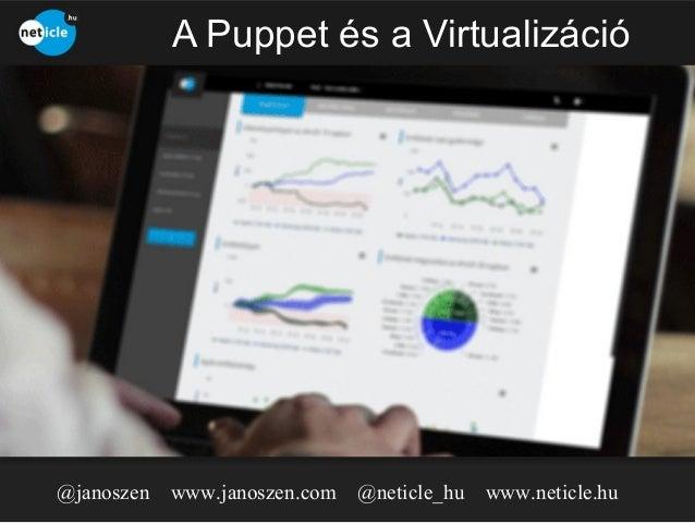 A Puppet és a Virtualizáció  @janoszen  www.janoszen.com @neticle_hu  www.neticle.hu