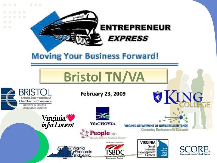 Bristol TN/VA <br />February 23, 2009<br />