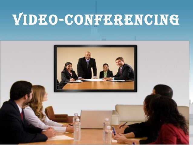 Video-conferencingTemplate for Microsoft PowerPoint