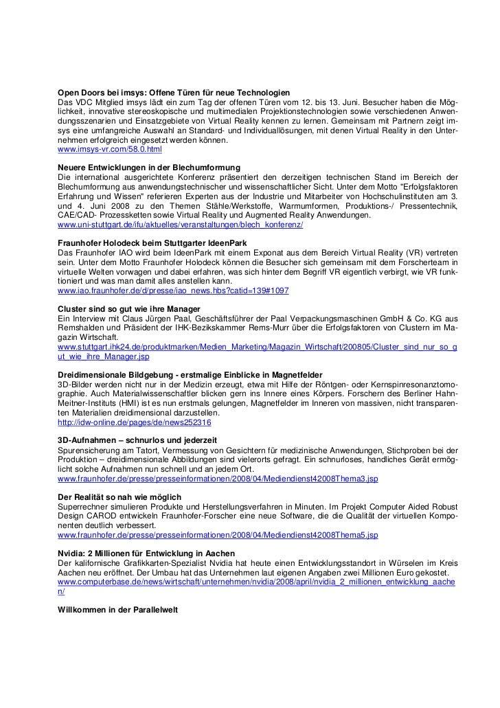 VDC Newsletter 2008-0405