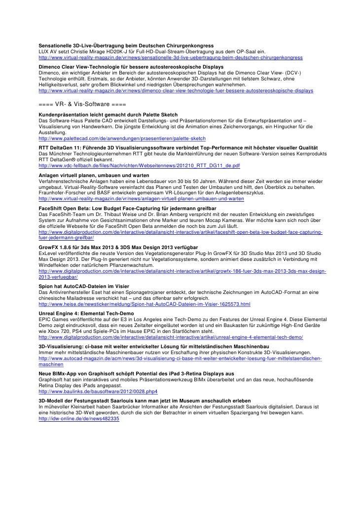 VDC Newsletter 2012-06