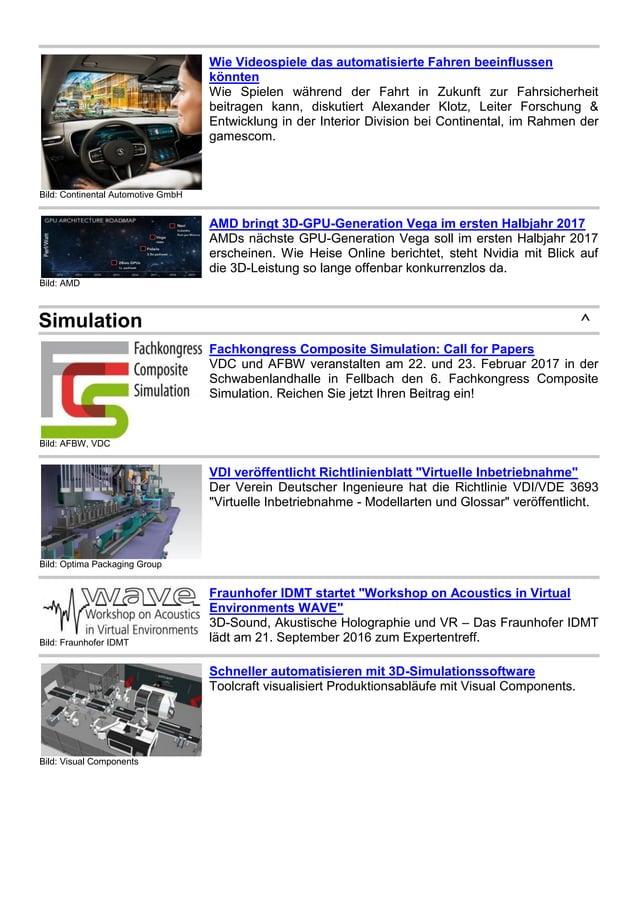 Bild: Continental Automotive GmbH Wie Videospiele das automatisierte Fahren beeinflussen könnten Wie Spielen während der F...