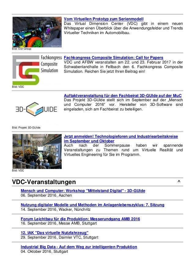 Bild: ESI Group Vom Virtuellen Prototyp zum Serienmodell Das Virtual Dimension Center (VDC) gibt in einem neuen Whitepaper...