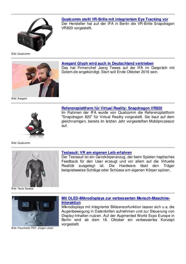 Bild: Qualcomm Qualcomm stellt VR-Brille mit integriertem Eye Tracking vor Der Hersteller hat auf der IFA in Berlin die VR...